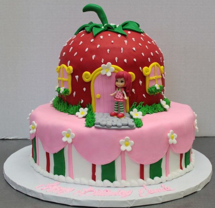 Strawberry Shortcake Kids Birthday Cake Tripoli Pizza Bakery